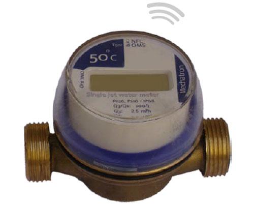 کنتور آب الکترونیکی در سامانه تفکیک مصرف آب
