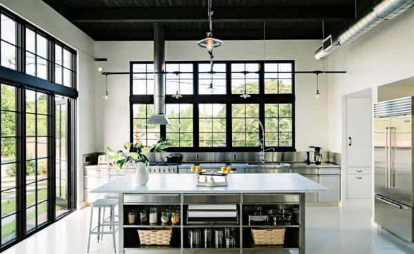 رعایت اصل خط دید در آشپزخانه و ناهارخوری