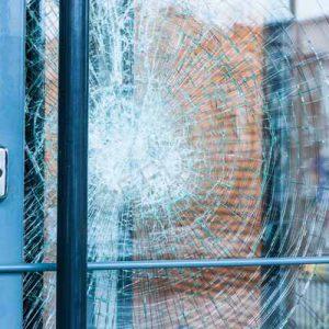 برچسب امنیتی شیشه