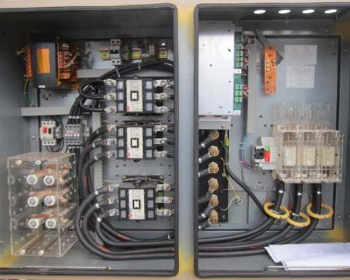 تابلو برق سه فاز چیلر تراکمی