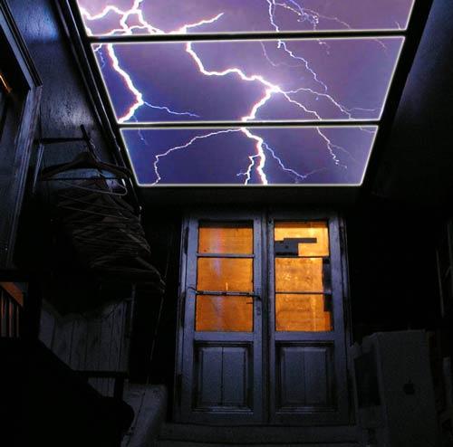 دکوراسیون داخلی اتاق با استفاده از سقف آسمان مصنوعی