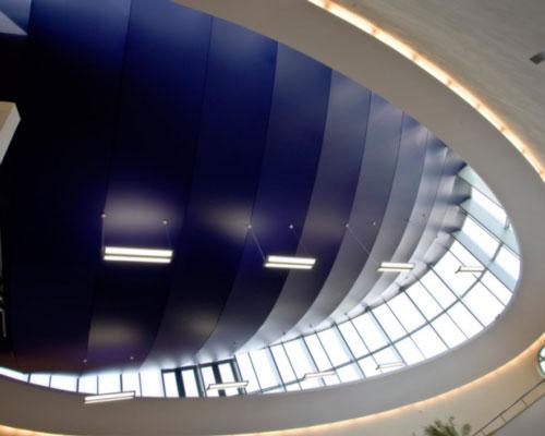 سقف کشسان فرم منحنی