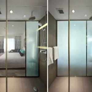 فروش شیشه لمینت هوشمند در هتل