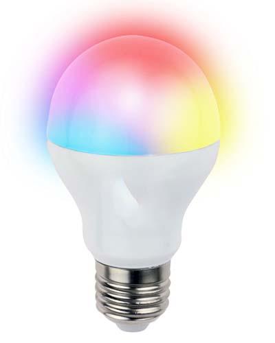 لامپ ال ای دی گرد با رنگ های مختلف