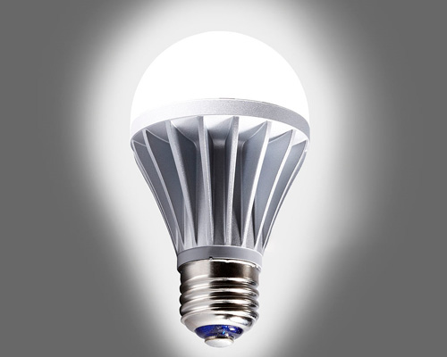 نمونه ای از لامپ حبابی ال ای دی اس ام دی ( لامپ LED SMD )