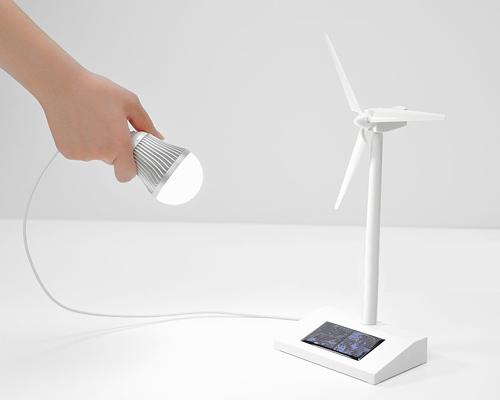 لامپ ال ای دی کم مصرف و تامین انرژی با توربین بادی و پنل فتوولتاییک