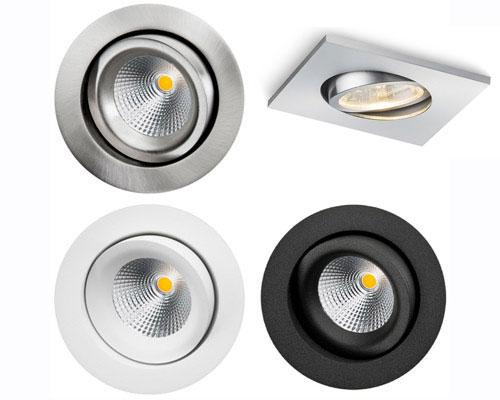ساختار پر استفاده لامپ سی او بی برای نورپردازی سقف خانه