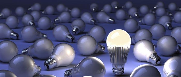تفاوت لامپ ال ای دی با لامپ فلورسنت کم مصرف CFL