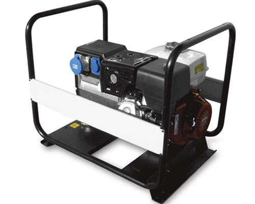 تصویری از نمونه موتور برق بنزینی
