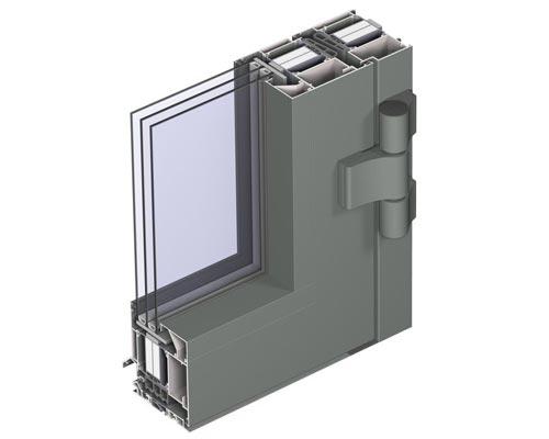 اجزای تشکیل دهنده پنجره شامل پروفیل ، شیشه و یراق آلات