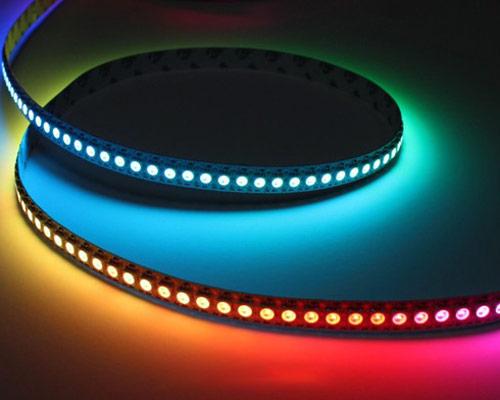 قابلیت کنترل رنگ و تنوع رنگ در لامپ ال ای دی نواری
