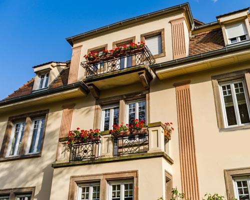 کاربرد پنجره در نمای ساختمان