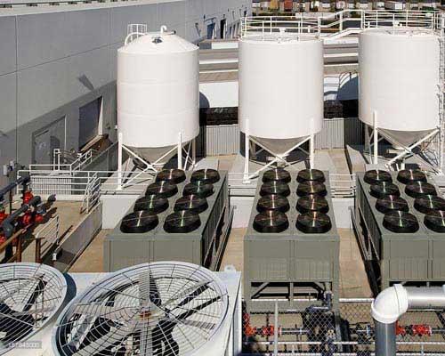 انواع کولینگ تاور در ساختمان های مسکونی و صنعتی استفاده می شود