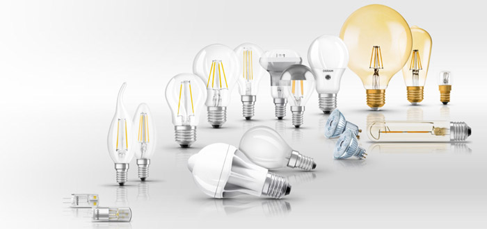 معرفی انواع لامپ ال ای دی