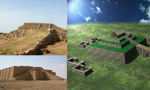 تاریخچه روف گاردن از زمان زیگورات