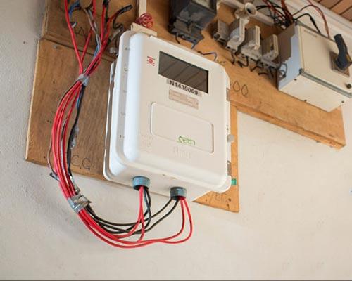 شارژ کنترل سیستم برق خورشیدی