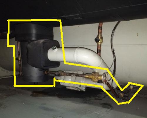 شیر فشارشکن در چیلر گریز از مرکز