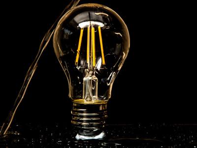 لامپ فیلامنتی ال ای دی با طراحی ادیسونی