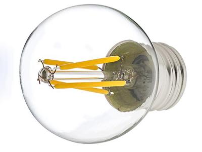 لامپ اشکی ال ای دی با تراشه های فیلامنت