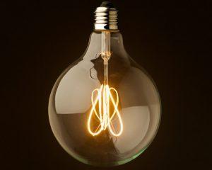 لامپ فیلامنتی حبابی بزرگ 8 وات با لومن 960