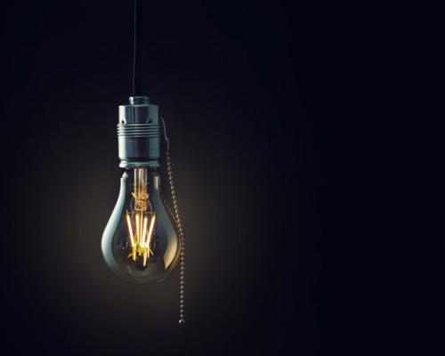 لامپ فیلامنتی سی او بی در طبقه لامپ های زیبایی