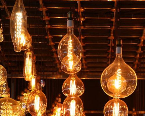 لامپ سی او بی فلامنتی برای نورپردازی در مکان های خاص و هنری