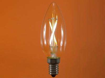 لامپ فیلامنتی ال ای دی برای لوستر ( 2 وات )