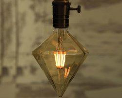 لامپ فیلامنتی LED با طرح بلوری