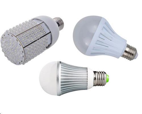 مشخصات فنی انواع لامپ ال ای دی