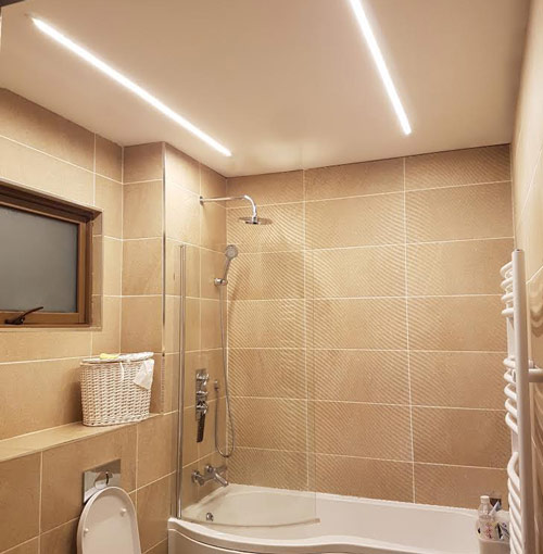 ال ای دی های ریسه و کاربرد لامپ ال ای دی نور مخفی با لامپ نواری LED