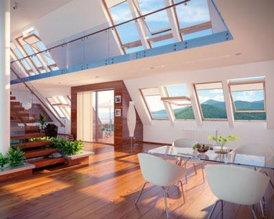 پنجره سقفی یو پی وی سی رنگی با طرح چوب