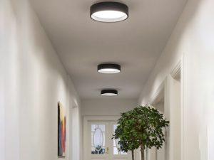 پانل سقفی ال ای دی دایره ای در فضاهای داخلی