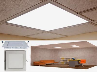 پنل های روشنایی سقفی توکار