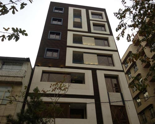 پنجره دو جداره UPVC در ساختمان