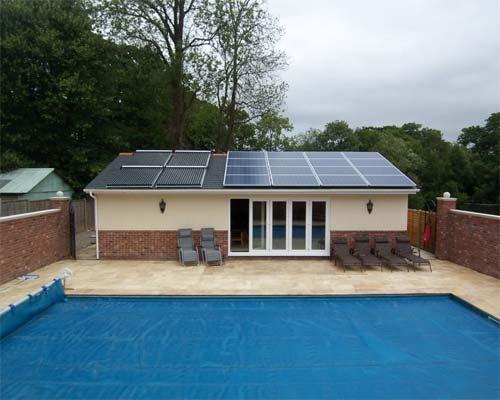 تولید آب و برق همزمان در سیستم های خورشیدی استخر