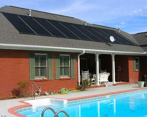 آبگرمکن خورشیدی استخر