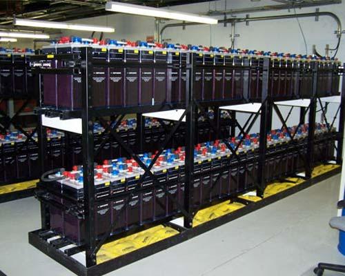 سیستم باتری مرکزی برای پشتیبانی سیستم برق اضطراری