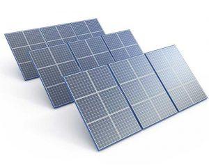زاویه انتخابی برای نصب پنل های خورشیدی