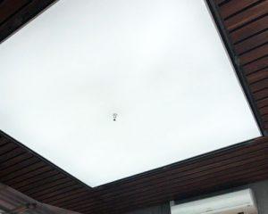 سقف کشسانی نورگذر نیمه شفاف
