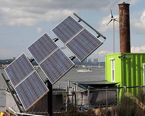 آفتابگردان پنل خورشیدی با استراکچر آهنی