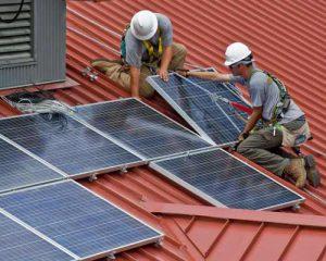نصب پنل های خورشیدی فتوولتاییک
