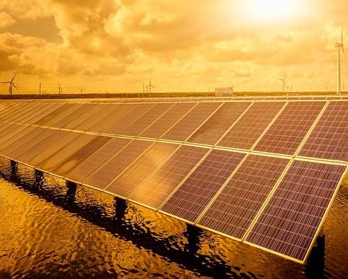 پنل خورشیدی شناور