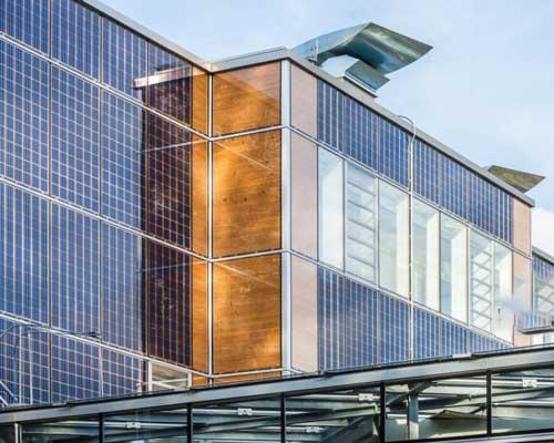پنل خورشیدی مخصوص نما ( BIPV )