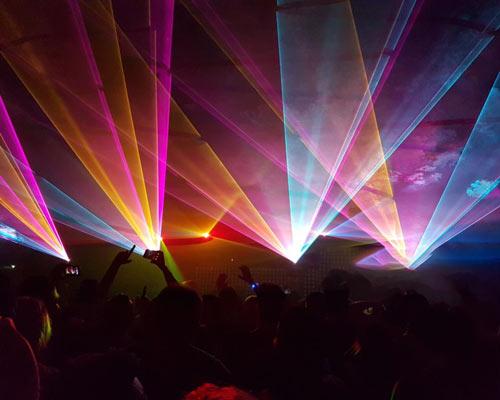نورپردازی کنسرت ها
