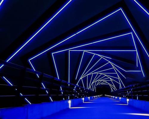 نورپردازی نما و نورپردازی خاص پل های شهری