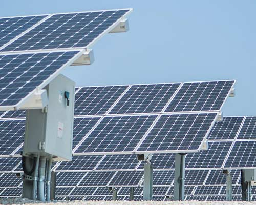نیروگاه برق خورشیدی متصل به شبکه