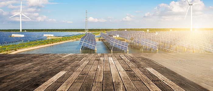 نیروگاه برق خورشیدی شناور بر روی سطح آب و دریاچه ها