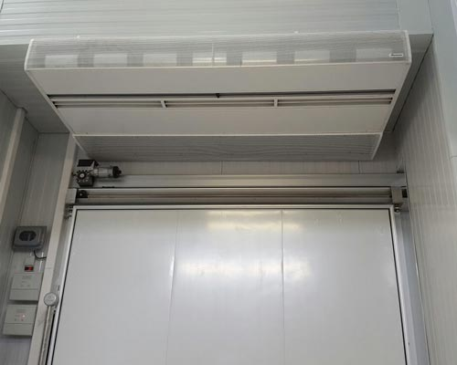 استفاده از درب هوا در سردخانه