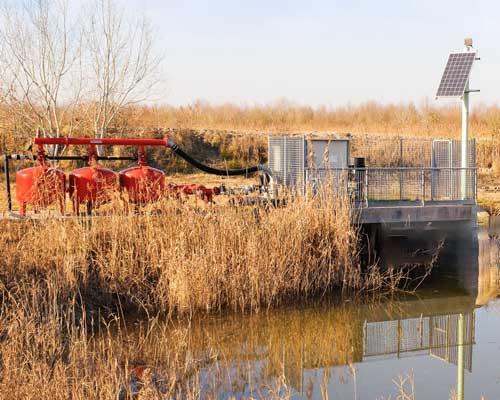 پمپ آب خورشیدی در کشاورزی