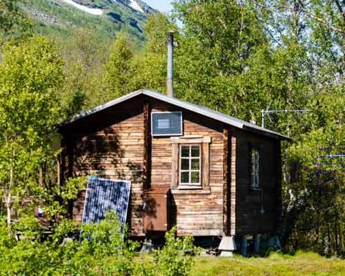 پنل خورشیدی خونه باغ یا خانه ویلایی دور از شبکه
